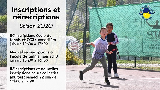 Inscriptions tennis Rueil