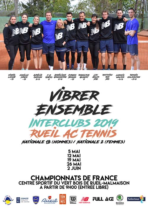 Affiche interclubs 2019